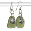 This is the EXACT pair of Genuine Sea Glass Earrings you will receive!