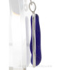 A side view shows you the thickness of the sea glass and the quality of the silver bezel work.