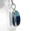 A side view shows you the thickness of the sea glass in this piece.