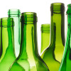 Wine bottles are a probable source for this sea glass piece.