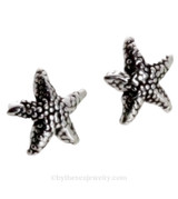 Solid Sterling Starfish Post Earring
