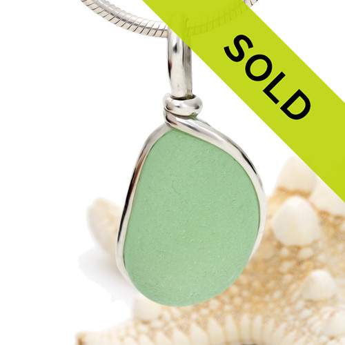 Sorry this seafoam green sea glass pendant has been sold!