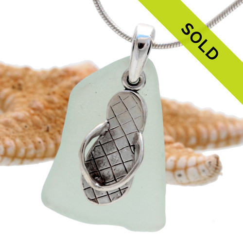 This sea glass jewelry piece has been sold!