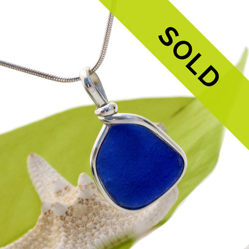 Sorry this sea glass jewelry item has sold!