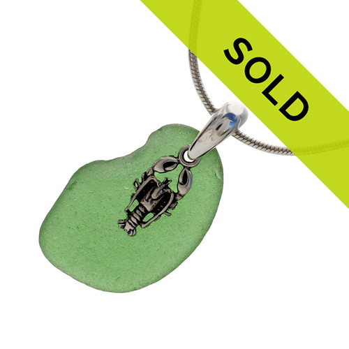 Sorry this sea glass necklace has been sold