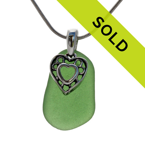 Sorry this sea glass jewelry necklace has been sold!