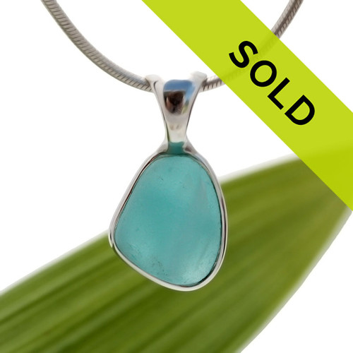 Sorry this Seaham Sea Glass pendant has been sold!