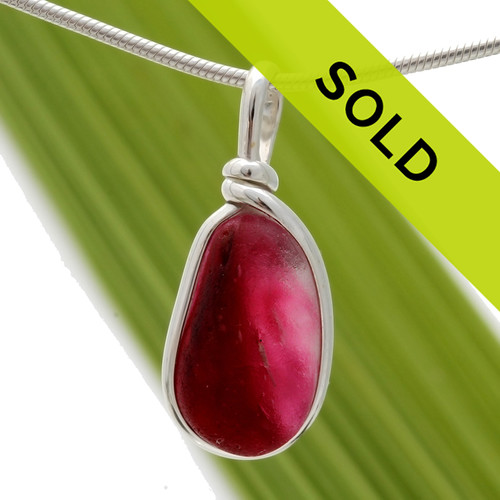 Sorry this ultra rare pink pendant has sold!