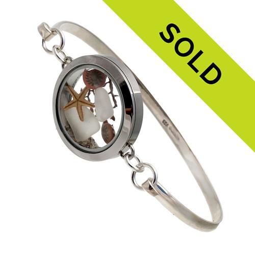 This bangle locket bracelet has sold!