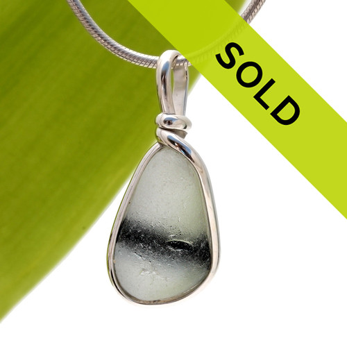 Sorry this sea glass pendant has sold!