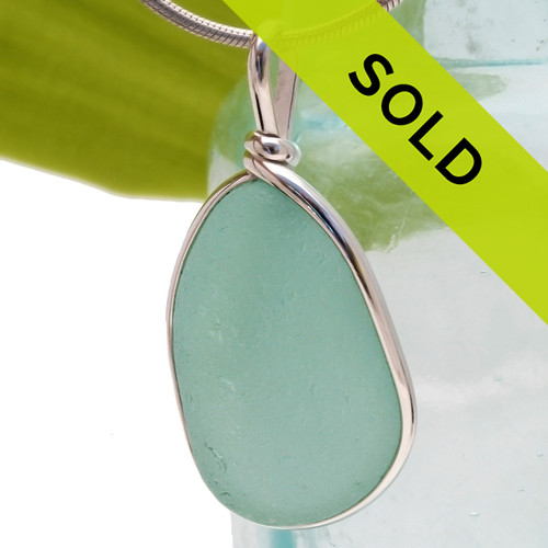 Sorry this aqua sea glass jewelry piece has been sold!