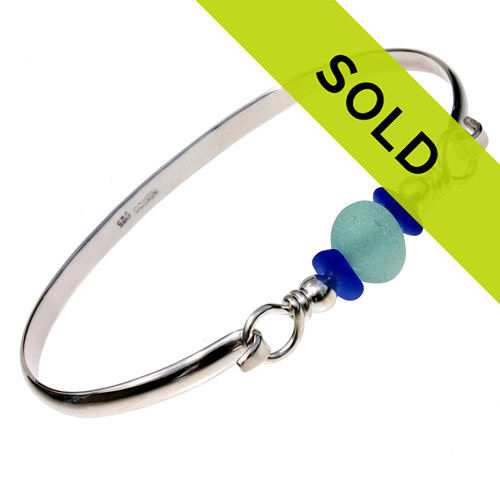Sorry this sea glass bangle has sold!