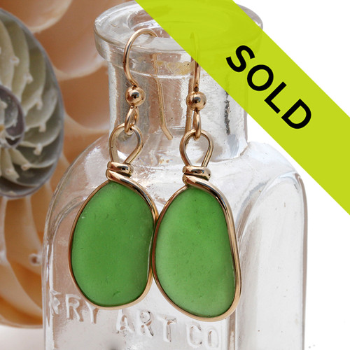 This sea glass jewelry item has been sold!