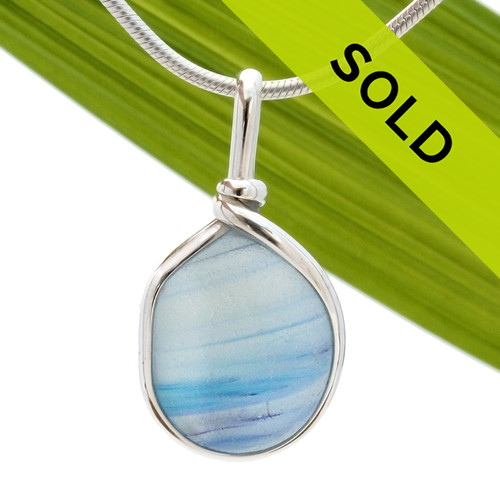 SOLD! Sea glass from this beach in Seaham England can have mixtures of wonderful colors. The colors were accidentally mixed during the production of art glass wares during the Victorian Era. Pieces of sea glass like this multi now was ashore over 100 years later! Very thick perfect beach found gem.