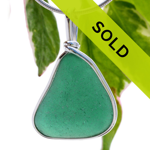 Sorry this teal sea glass pendant has been sold!