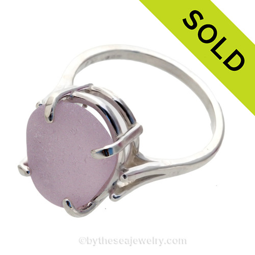 Sorry this sea glass ring has been sold!