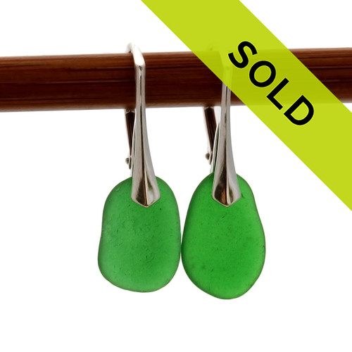 Sorry these sea glass earrings are no longer available for purchase!