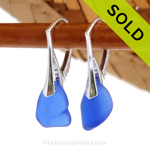 Simple and elegant these genuine blue sea glass earrings are bound to get you compliments! Sorry this Sea Glass Jewelry selection has been SOLD