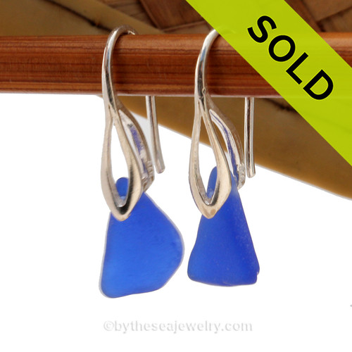 Simple and elegant these blue sea glass earrings are bound to get you compliments! Sorry this Sea Glass Jewelry Selection is no longer available.