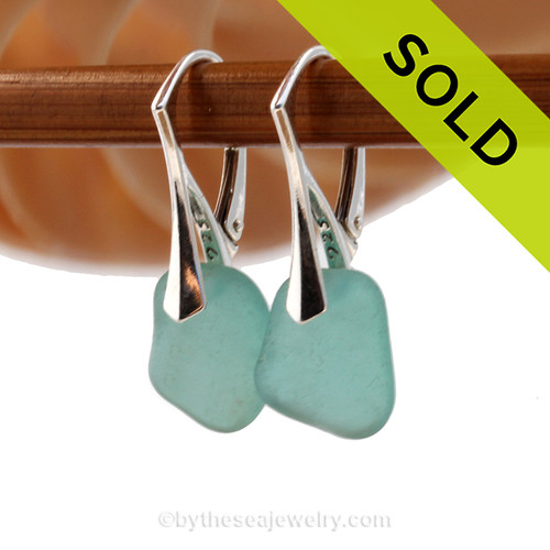 SOLD - Sorry these Sea Glass Earrings have been SOLD!
