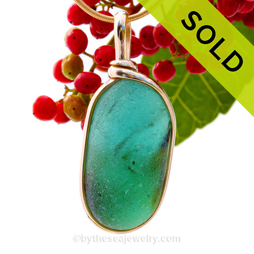 A bright Aqua and Green End Of Day English Multi sea glass set for a necklace in our Original Sea Glass Bezel© in solid sterling silver setting. SOLD - Sorry This Sea Glass Jewerly Selection Is NO LONGER AVAILABLE!