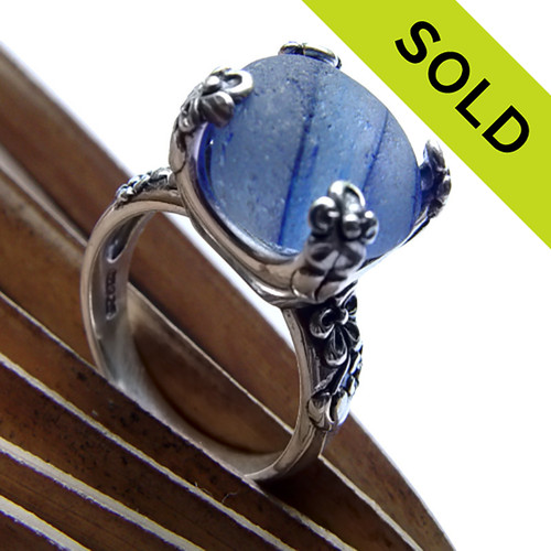 SOLD - Sorry this Ultra Rare Sea Glass Ring is NO LONGER AVAILABLE!!!!