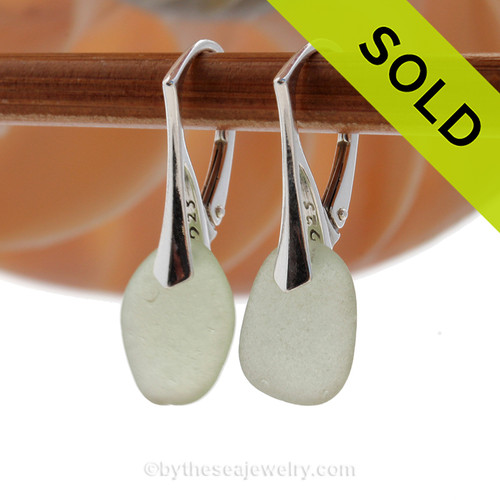 SOLD - Sorry these EXACT Sea Glass Earrings are NO LONGER AVAILABLE!