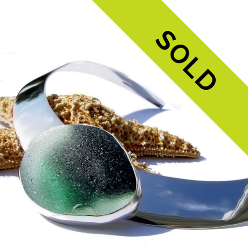 Sorry this one of a kind Limited Edition sea glass jewelry piece has been sold!
