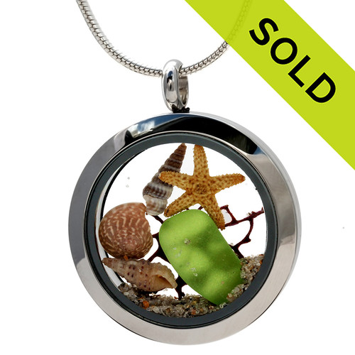 Custom Sea Glass Jewelry using Our Sea Glass