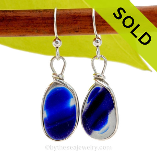 SOLD - Sorry these Ultra Rare Sea Glass Earrings are NO LONGER AVAILABLE!