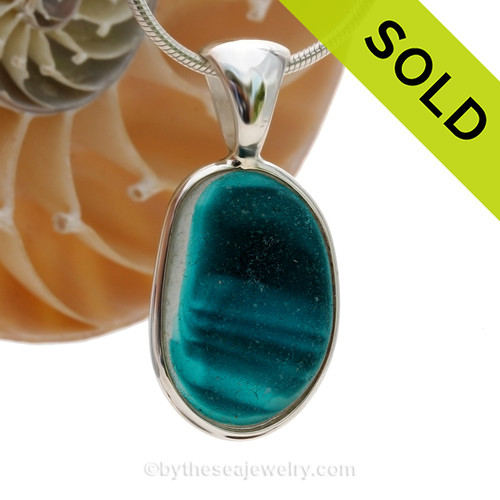 SOLD - Sorry this Ultra Rare Sea Glass Pendant is NO LONGER AVAILABLE
