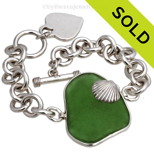 Sorry this Sea Glass Bracelet is NOT AVAILABLE FOR PURCHASE!~