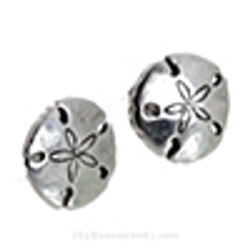 Choose a pair of matching Sterling Sandollar Post Earrings