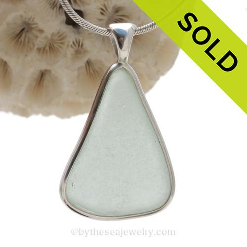 Custom Sea Glass Jewelry from customer supplied glass.