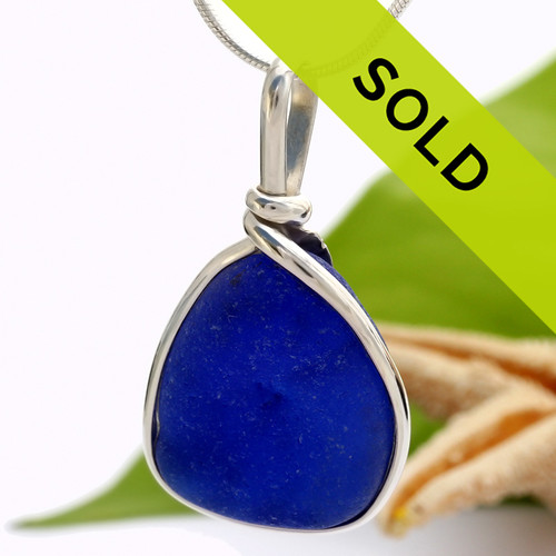Sorry this blue sea glass pendant is sold.