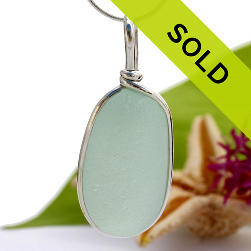 Sorry this sea glass necklace pendant is no longer for sale.