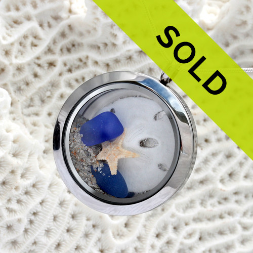 Sorry this exact locket has been sold!