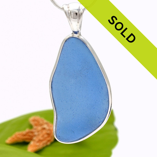 Sorry this Carolina blue sea glass pendant has been sold!