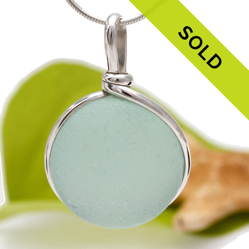Sorry this beautiful seafoam pendant has been sold