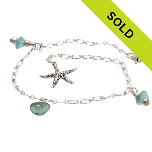 Sorry this anklet has been sold. We will be posting more later this week. Stay Tuned!