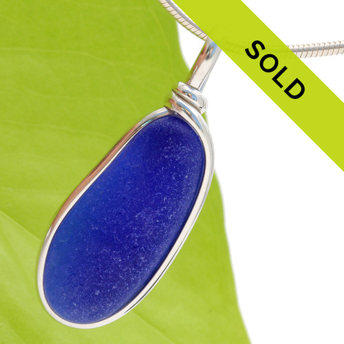 Sorry this beautiful blue sea glass pendant has SOLD