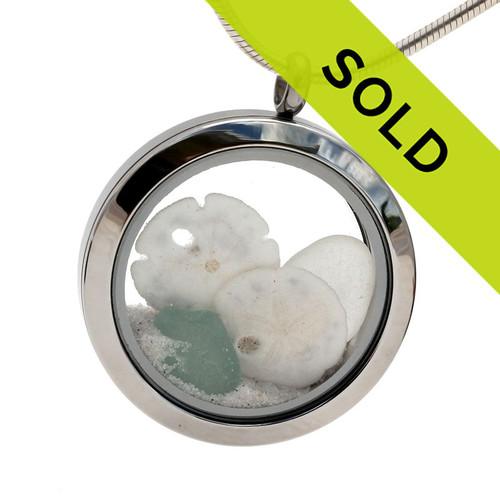 Sorry this aqua sea glass locket has been sold!