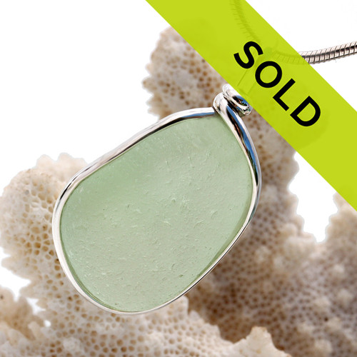 Sorry this sea green sea glass pendant is no longer for sale.