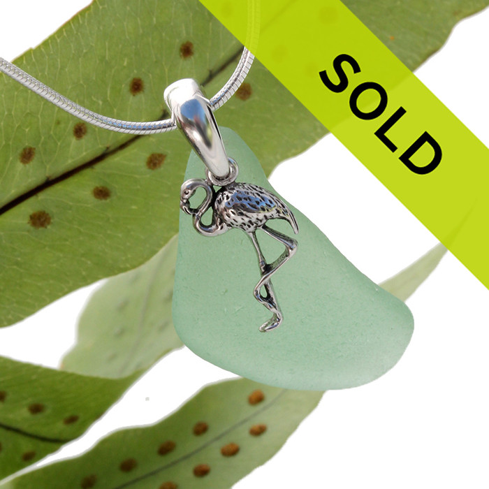 Sorry this seafoam sea glass necklace has been sold!