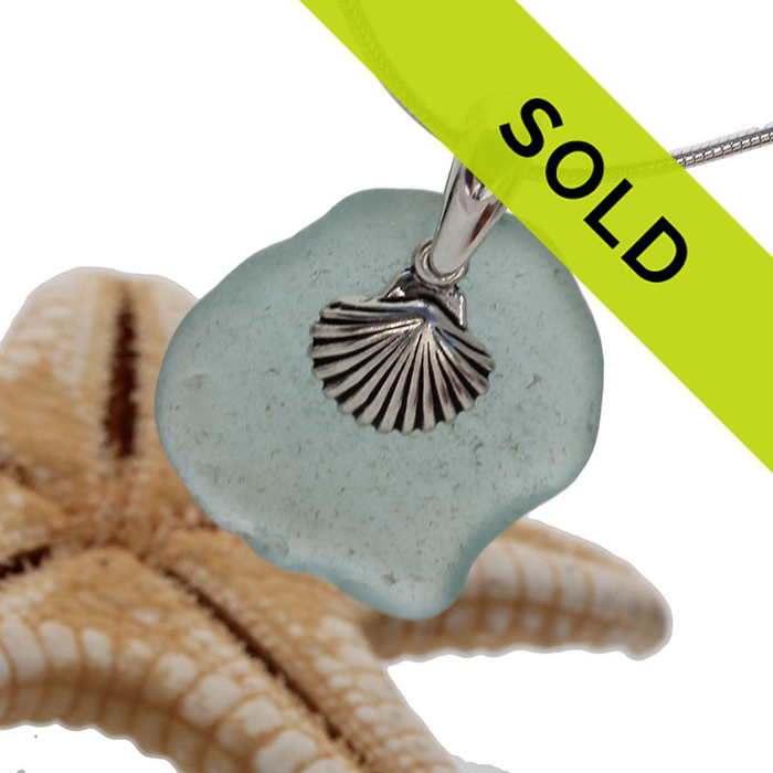 Sorry this sea glass necklace has sold!