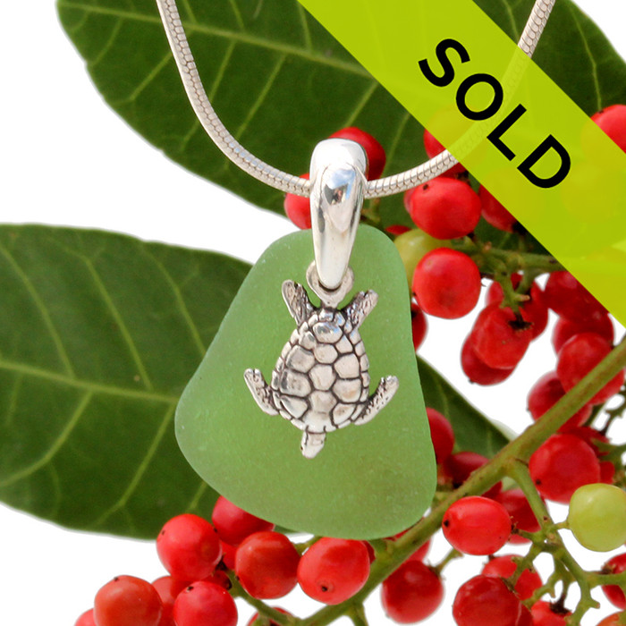 Sorry this sea glass necklace has already sold!