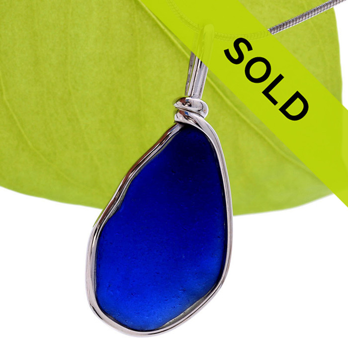 Sorry this sea glass jewelry item is no longer available!