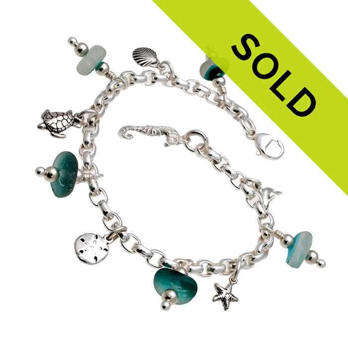Sorry this sea glass bracelet is no longer for sale.