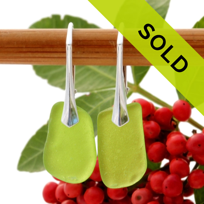 Sorry this pair of sea glass earrings has been sold!