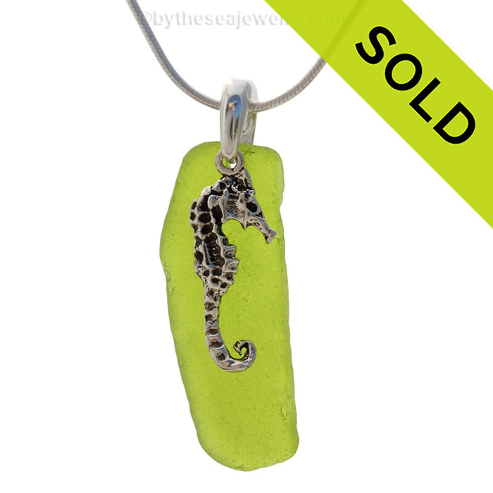 Sorry this sea glass necklace has been sold!